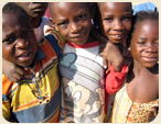 Kids from Chibobo Orphanage in Zambia