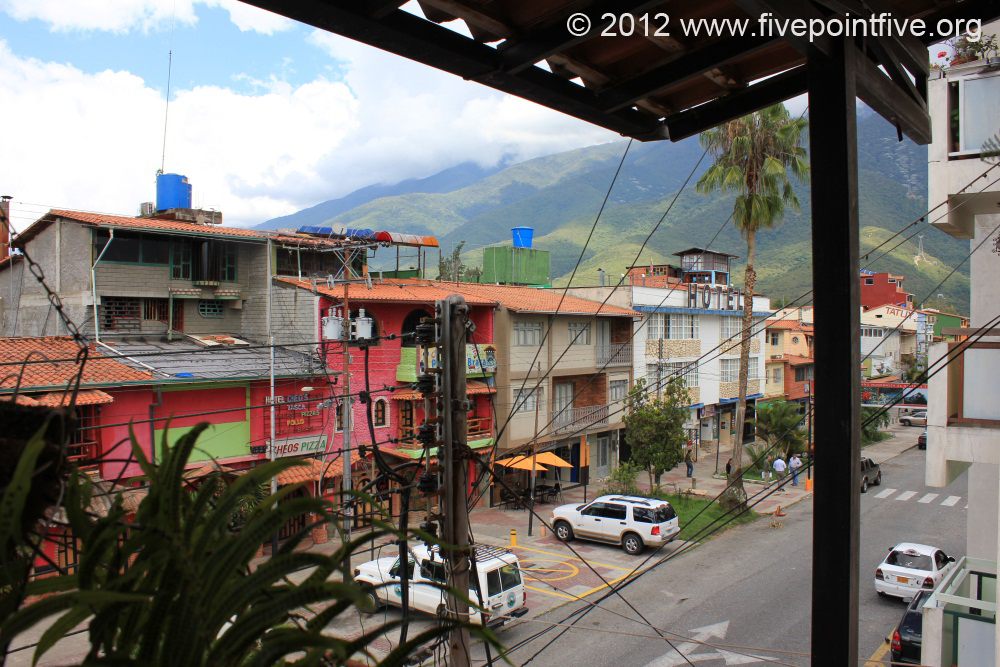 Merida town - high in the Andes