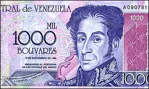 Money in Venezuela