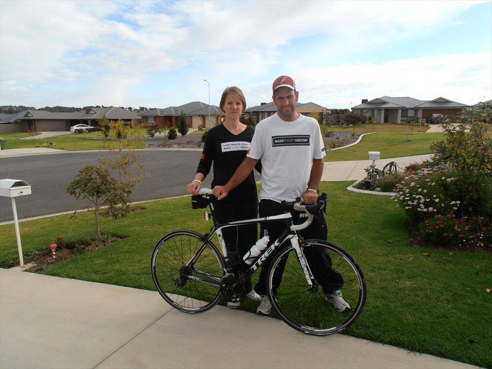 Matt and Wendy - Long Ride to Stop Poverty