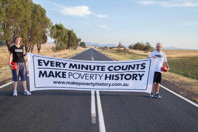 Matt and Wendy - Global Poverty Walk