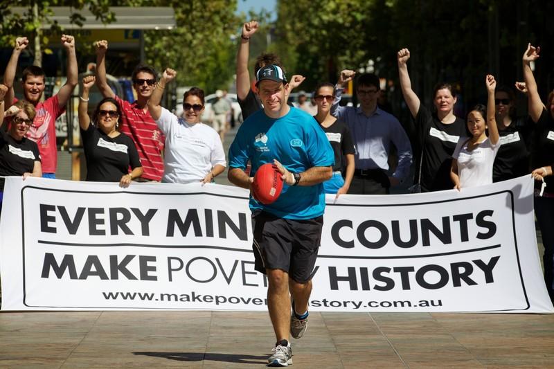 Matt Napier Make Poverty History