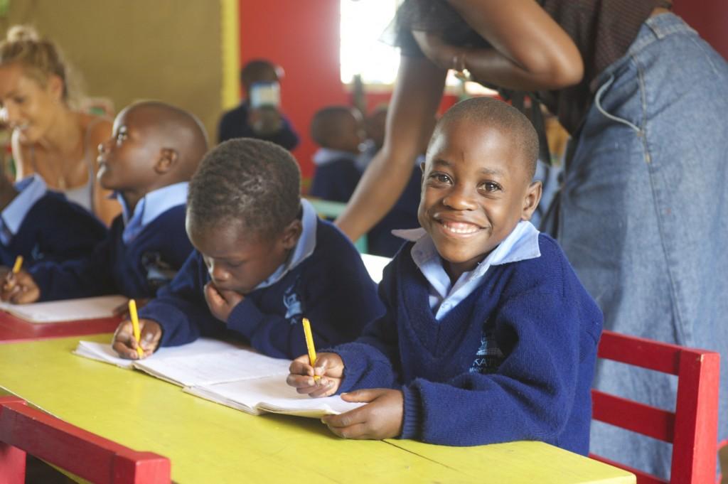 Annabelle Chauncy and David Everett - Katuuso School Uganda