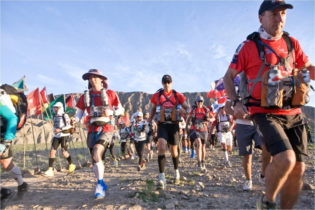 Greg Donovan Born To Run Foundation Gobi March Race