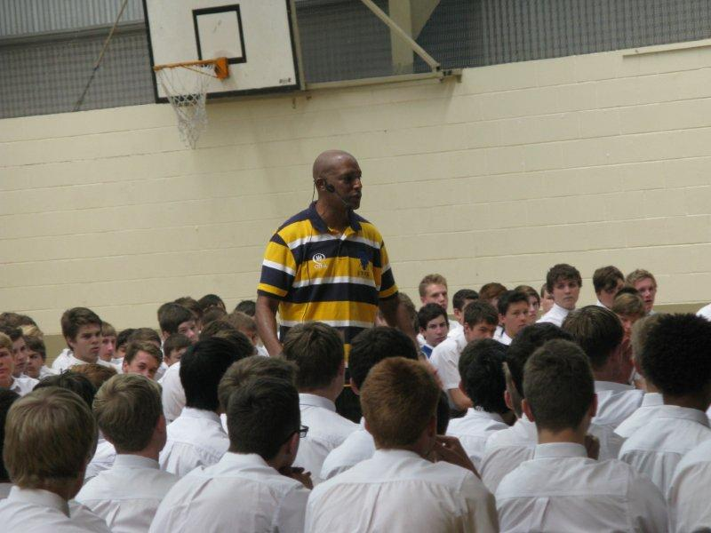 Eric Bailey - Motivating School Students