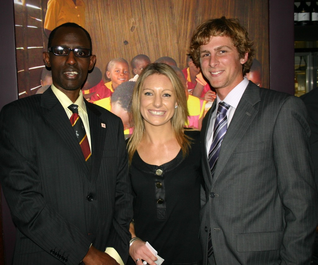 Annabelle Chauncy and David Everett - Ugandan High Commission Canberra