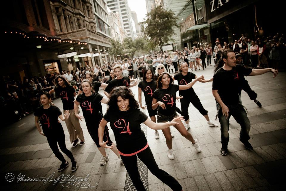 Tanya Hall - Hearts4heart Flashmob Fundraiser
