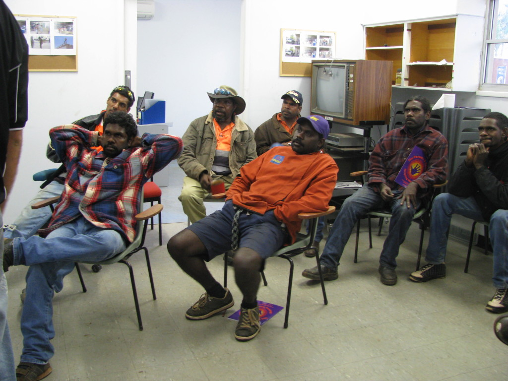 Safe4Kids - Aboriginal men workshop about keeping children safe