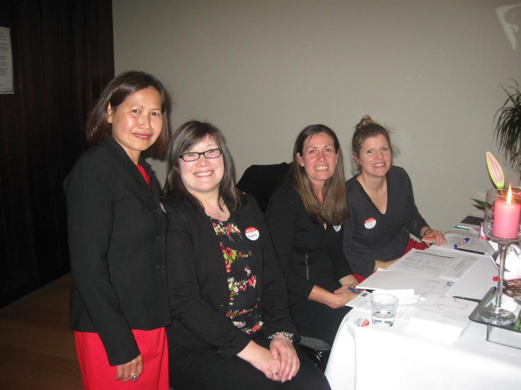 Andrea Fairbairn and Fundraising Team