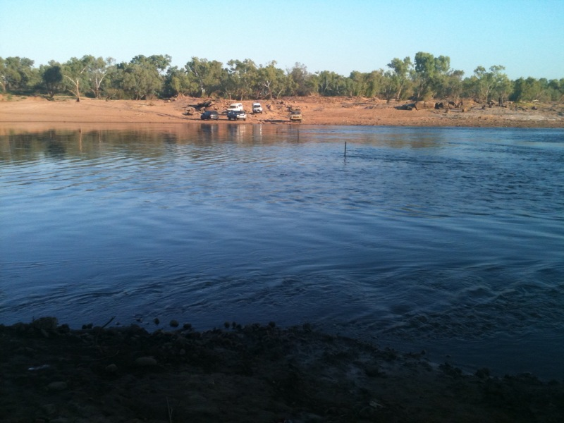 Holly-ann Martin - Crossing the Fitzroy River to Ngalapita