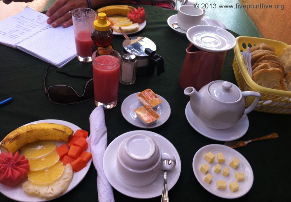 Breakfast at Casa Marta Margarita