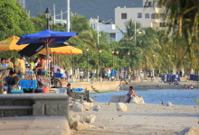 Santa Marta Pier and Beach