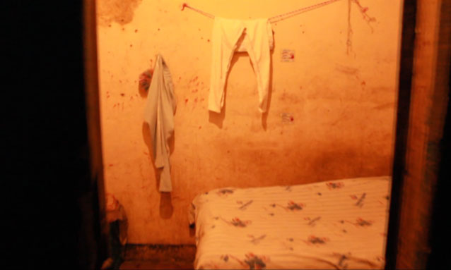 A typical room in the brothel