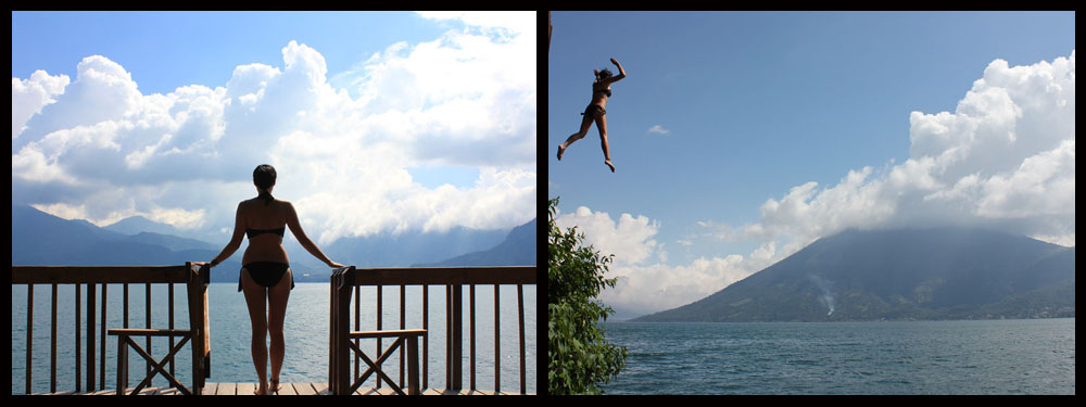 San Marcos Rock Jumping - Lake Atitlan