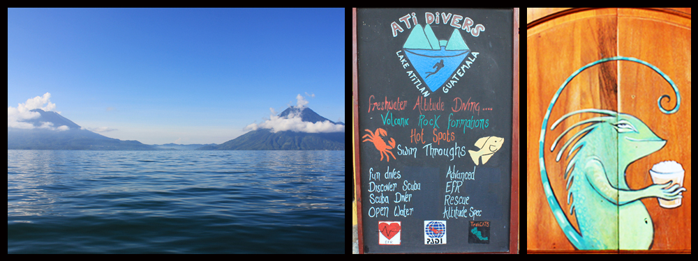 Diving Lake Atitlan