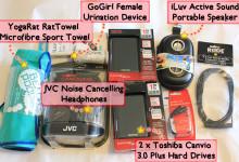 Review JVC Noise Cancelling Headphones, Toshiba Canvio Hard Drive, Yogarat RatTowel Microfibre