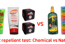 Insect repellent Comparison