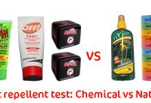 Insect repellent Comparison
