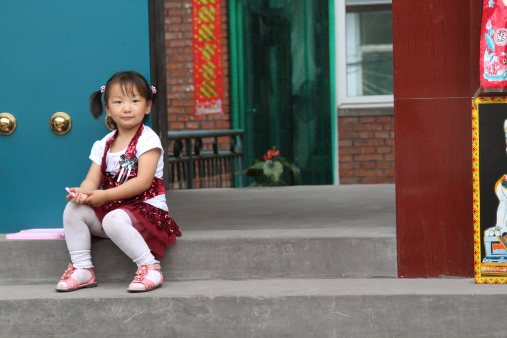 One of over 70,000 little girls kidnapped in China every year to become child brides