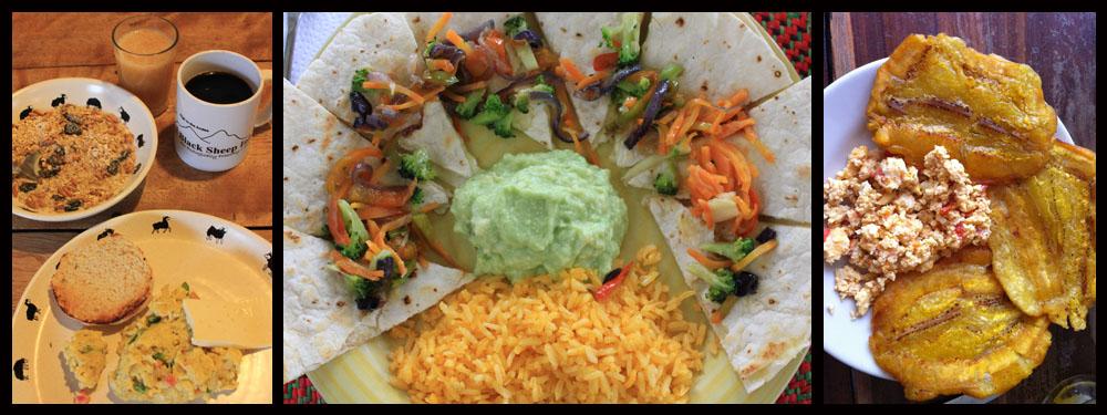 Vegetarian travel in Latin America