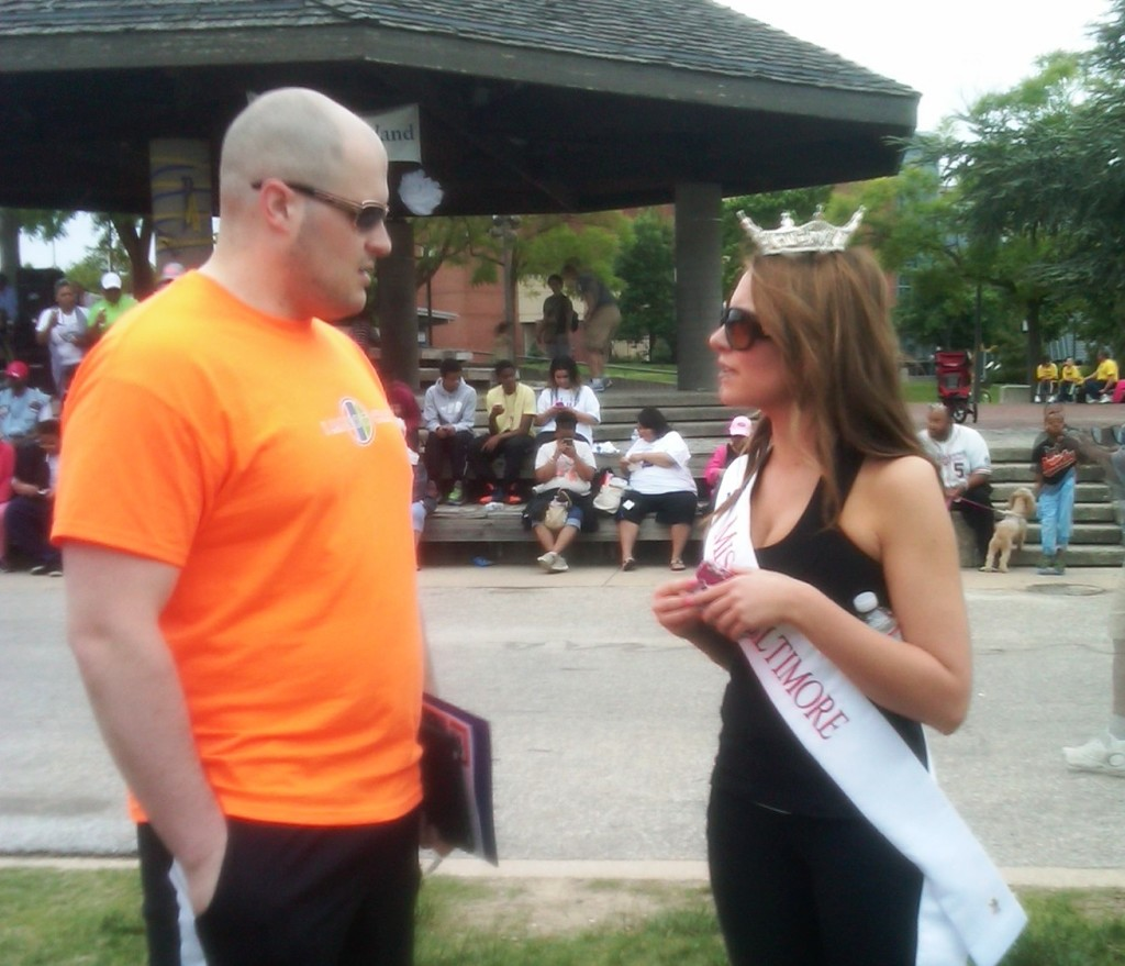 Jared Wilmer and Miss Baltimore, Miss America pageant