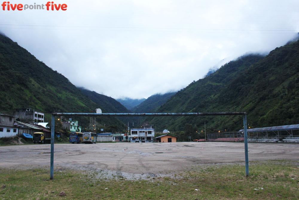 Football Field, Rio Verde, Ecuador