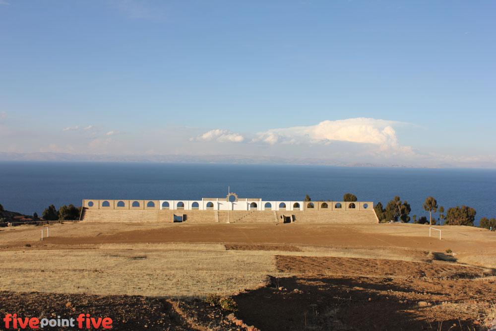 Football Pitch, Amantani Island, Peru