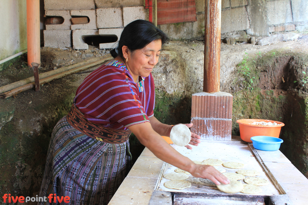 Soup Kitchen feeding the poor in Guatemala