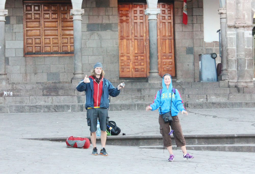 Ready for our tour in Cusco