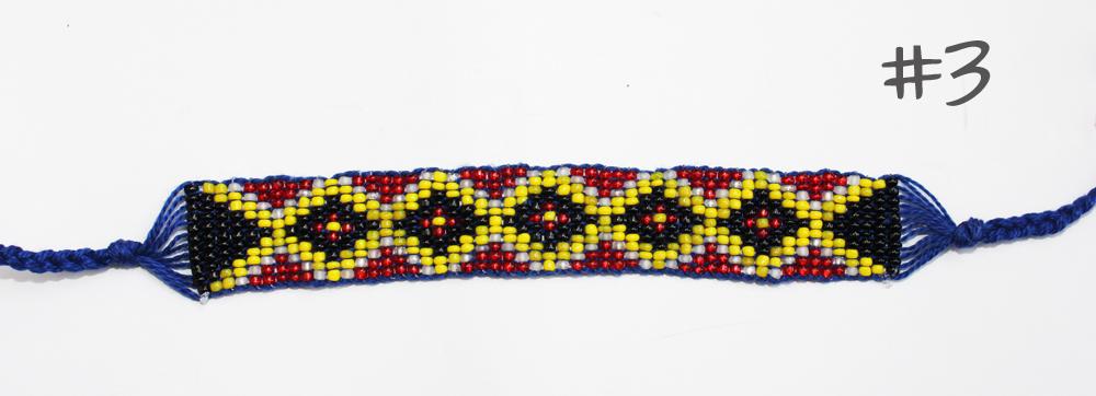 Making beaded bracelets