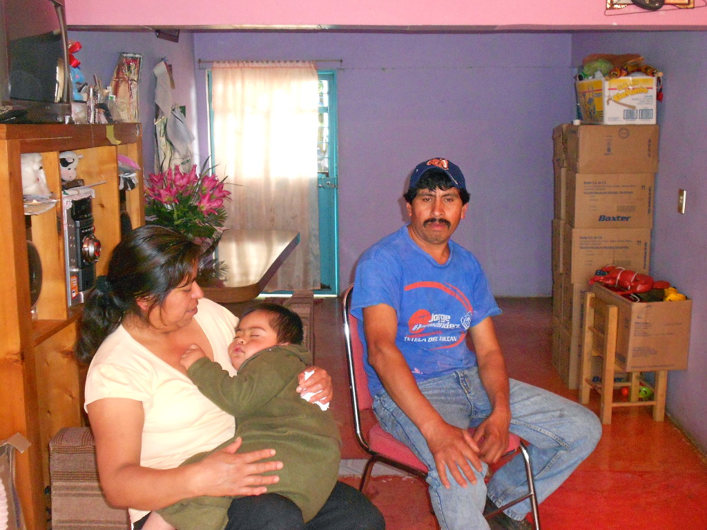 A family within the indigenous community