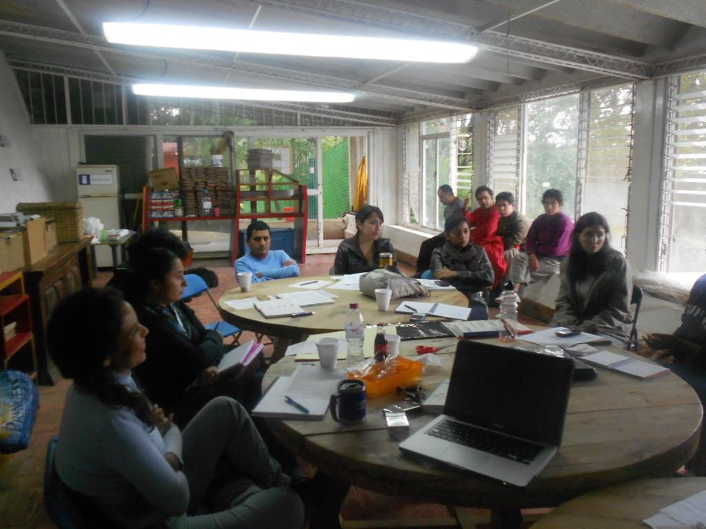 Self advocates training