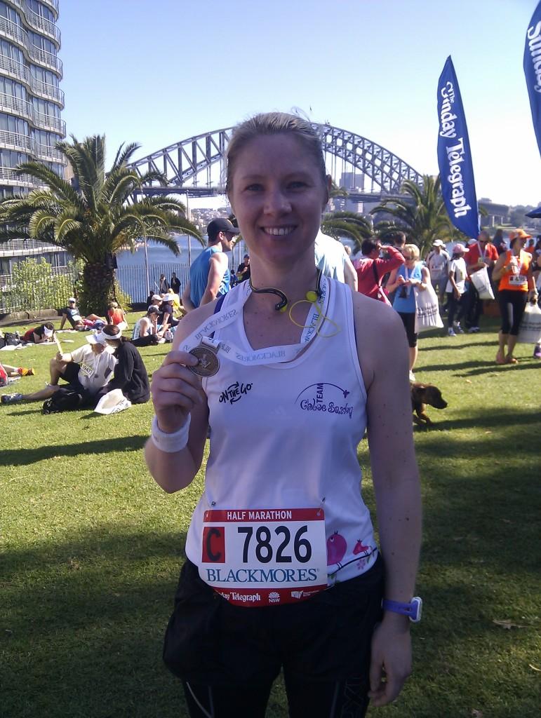 Team Chloe Saxby Half Marathon Sept 2013