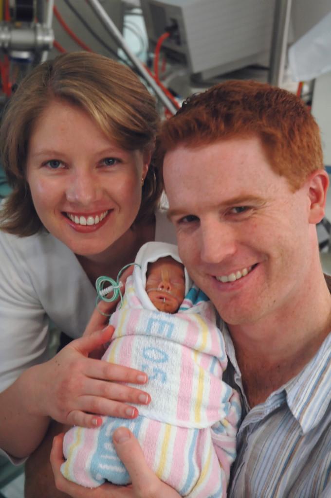 Belinda, Alex and Husband Matt
