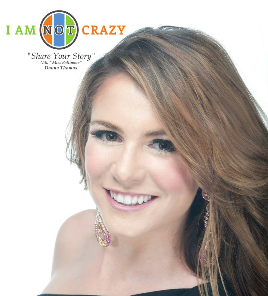 I am not crazy spokesperson, Miss Baltimore 2013
