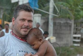 David Hill in Sri Lanka