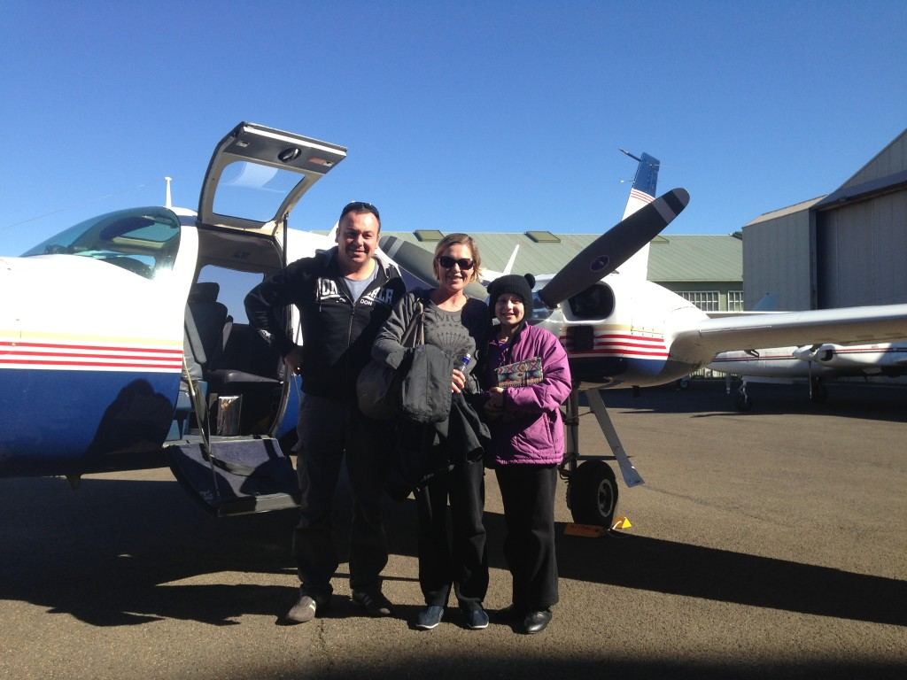 11yo Brodie Dukes from Forbes in Western NSW ready for her flight to receive treatment in Sydney