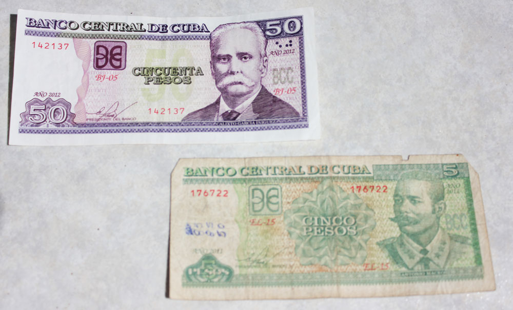Money in Cuba