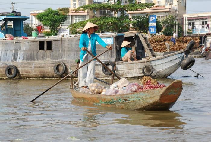 Meekong River market