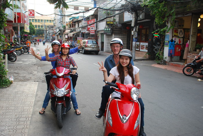 Saigon Scooter Tour