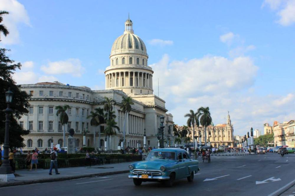 Downtown Havana: a city which opens the imagination to its fullest
