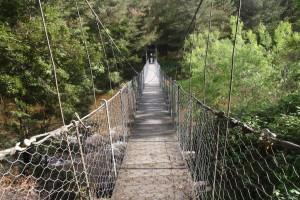Swing bridge, Reefton