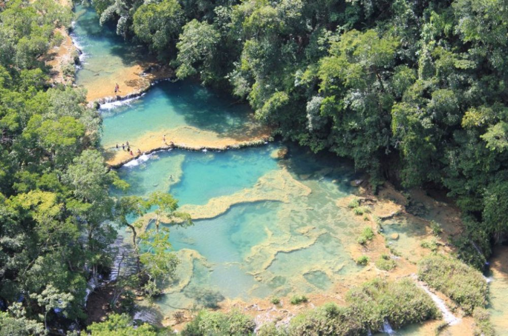 Semuc Champay in Guatemala is a travellers wet dream