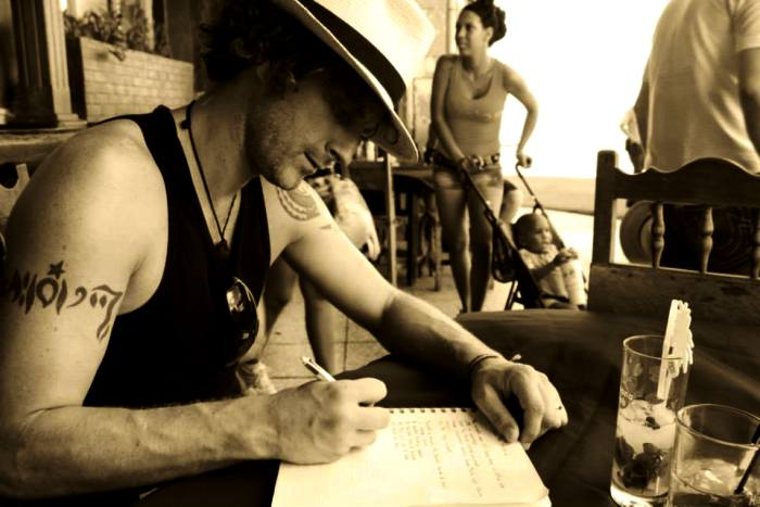 Writing this very blog on the Malecon in Havana