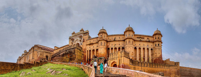 The Amber Fort in Jaipur was constructed in the 17th Century when Amber was the seat of power.