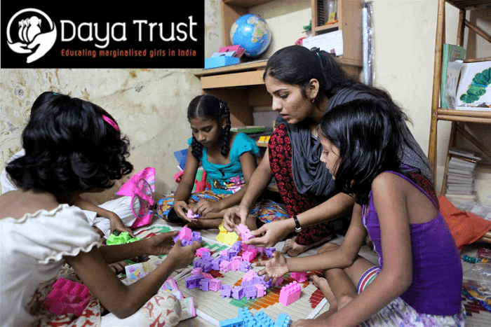 Aarti Naik and her students at the Girls Learning Centre in Mumbai which Daya Trust supports. You will have a unique opportunity to meet Aarti when we visit Mumbai and learn more about her incredible work.