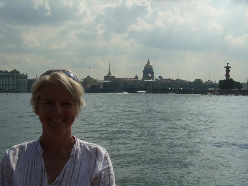 Ali Kingston in St Petersburg