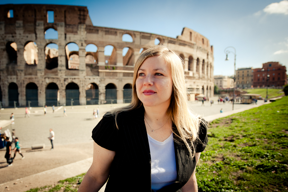 Andrea from Why Roam_ Colosseo in Rome
