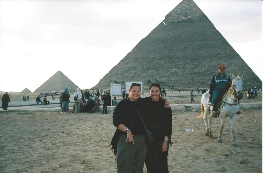 Egypt - The Pyramids - Amanda