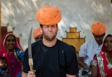 Travis Longmore in India
